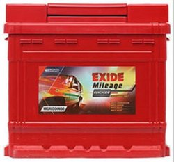 Exide Mileage MLDIN44LH 44AH Car Battery