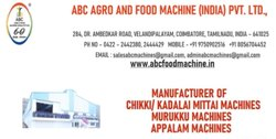 Fully Automatic Chikki Making Machines