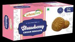 Strawberry Cream Biscuits (200g)