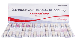 Azithral 500 Mg Tablets