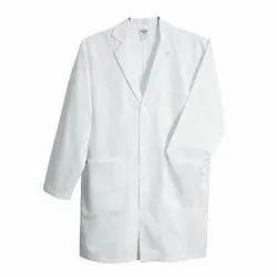 White Reusable Cotton Lab Coat, For Laboratory, Machine wash