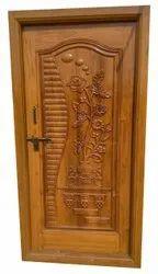 Exterior Teak Wood Carving Door