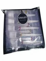 Crazy Disposable Plastic Fork, For Event and Party Supplies
