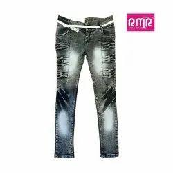 RMR Slim Fit Ladies Stretchable Denim Jeans, Waist Size: 28