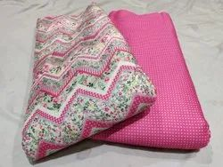 Ladies Cotton Printed Suit Fabric