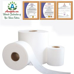White Melt Blown Fabric  (Polypropylene PP)