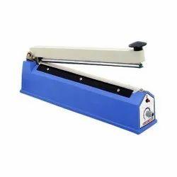 Temp-up Mild Steel Manual Hand Sealer, Packaging Type: Box