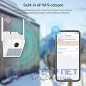SAFETYNET WiFi HD 1080P Motion Activated, Smart Wall Lamp Surveillance Camera