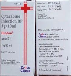 Cytarabine Zydus Celexa Biiobin Injection, 10ml