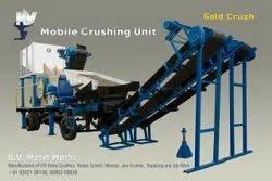 Mobile Stone Crusher Unit