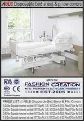 Able Disposable Bed Sheet 25 Gsm
