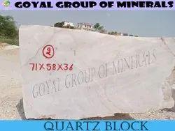 White Quartz Rock, 2000kg