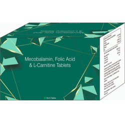 Mecobalamin, Folic Acid & L- Carnitine Tablets