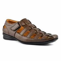 1001 Mens Brown Casual Sandal, Size: 6