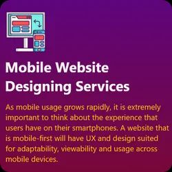 HTML5/CSS Responsive Mobile Website Designing Services
