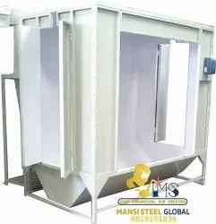 Mild Steel Three Phase Powder Coating Paint Booth