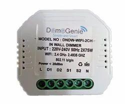 LED Square Domogenie Wifi Inwall Dimmer