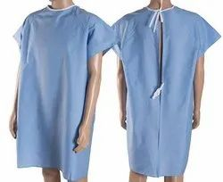 Patient Gown With Back Open
