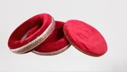 Red Yellow Pink Blue Nylo Tabla Ring Set, Size: Full Size