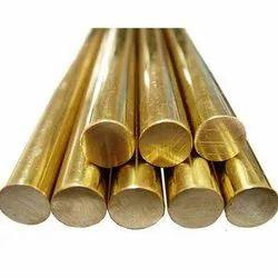 Round Brass Extrusion Rod, Size: 300mm