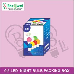 0.5 Watt LED Night Bulb Packaging Box