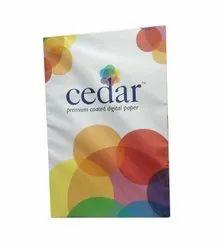 White JK Cedar Premium Coated Digital Copier Paper, GSM: 70 GSM, Size: A4 (210 X 297mm)