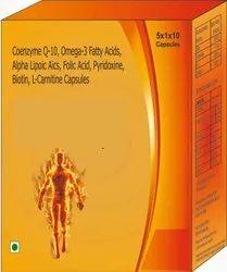 Coenzyme Q-10, Omega-3 Fatty Acids, Alpha  Capsules
