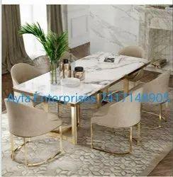 Ayfa Golden Brass Table, For Home, Size: Custom