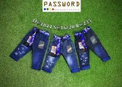 Kids Slim Fit Denim Jeans