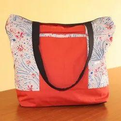 Red Cotton New Design Hand Shoulder Bag Collection