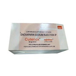 Cutenox Enoxaparin Injection 60 mg/0.6 ml