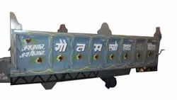 Mild Steel Agricultural Tractor Trailer, For Loading Purpose, Chassis Type: Tipping