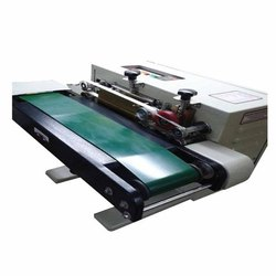 Baby Horizontal Continuous Band Sealer With Vacuum Packing