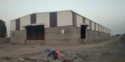 Mild Steel Prefabricated Industrial Shed