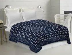 Block Printed Kantha Bedspread