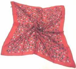 Silk Tabby Square Scarves
