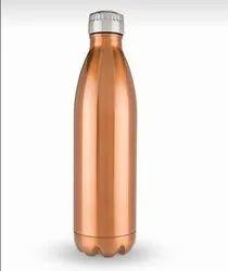 VINTAGE ART GOLDEN Steel Water Bottle 1 Ltr, For Home&restourant