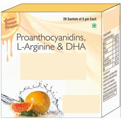Proanthocyanidins, L-Arginine  & DHA Sachet