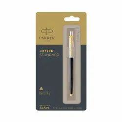Parker Jotter Standard Refillable Ball Pen with Gold Plated Trim