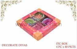 Designer Terracotta Diwali Diyas