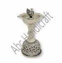 Silver Plated Pooja DIya / Metal Samai For Pooja Purpose & Home Decoration, Corporate Gifts