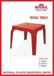 National Regal Plastic Table