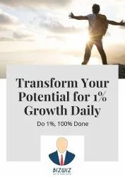 Transform Your Potential By Do1%, 100% Done Blueprint, Location: Pan India