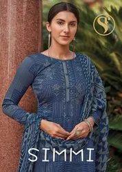 Sweety Fashion Simmy Jam Satin Salwar Kameez Catalog
