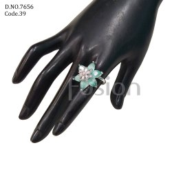 Fusion Arts Ad Stone Finger Ring