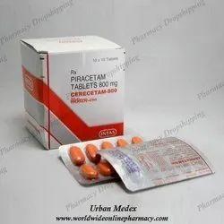 Cerecetam 800 Mg Tablets
