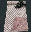 Baby Hand Block Cotton Quilt