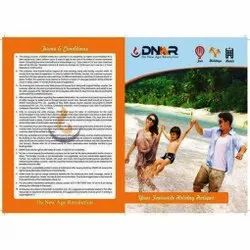 Paper Tourist Places Brochure Printing Services, in Pan India