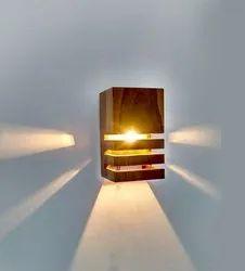 regular 1 Wooden Wall Lamp