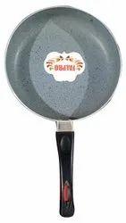 Black Aluminium Nirlon Falpro Non Stick Fry Pan, For Home